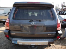 2005 TOYOTA 4RUNNER SR5 GRAY 4.7L AT 4WD Z17872