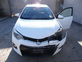 2014 TOYOTA COROLLA S WHITE 1.8 AT Z21367