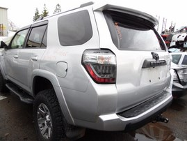 2016 TOYOTA 4RUNNER SILVER 4.0L AT 4WD Z19474
