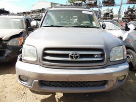 2001 TOYOTA SEQUOIA LIMITED LAVENDER 4.7L AT 4WD Z17887