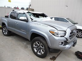 2016 TOYOTA TACOMA LIMITED CREW CAB SILVER 3.5 AT 2WD Z20918