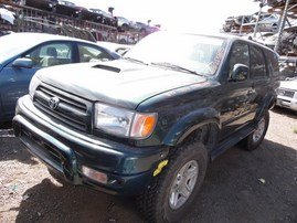 2000 TOYOTA 4RUNNER SR5 GREEN 3.4L AT 4WD Z17885