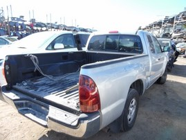 2008 TOYOTA TACOMA SILVER XTRA CAB SR5 2.7L AT 2WD Z18067