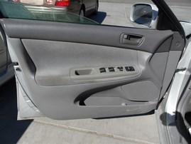 2002 TOYOTA CAMRY LE 4DOOR SILVER 3.0 AT Z19711