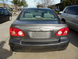 2005 TOYOTA COROLLA CE GRAY 1.8 AT Z20922