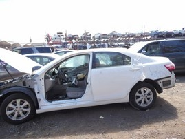 2008 TOYOTA CAMRY LE WHITE 2.4L AT Z17892