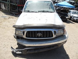 2002 TOYOTA TACOMA SR5 EXTRA CAB SILVER 3.4 MT 4WD TRD OFF ROAD PKG Z19719