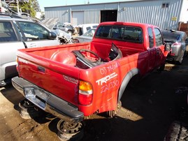 2003 TOYOTA TACOMA XTRA CAB PRERUNNER SR5 RED 3.4 AT 2WD Z21350
