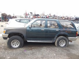 1995 TOYOTA 4RUNNER SR5 GREEN 3.0L AT 2WD Z18075