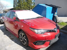 2016 SCION IM BURGUNDY 1.8L AT Z18079