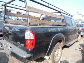 2005 TOYOTA TUNDRA LIMITED BLK DOUBLE CAB 4.7L AT 4WD Z19495