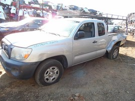 2005 TOYOTA TACOMA EXTRA CAB SILVER 2.7 AT 2WD Z20391
