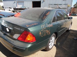 2000 TOYOTA AVALON XLS GREEN 3.0L AT Z17906