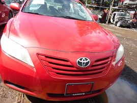 2009 TOYOTA CAMRY LE RED 3.5L AT Z18087