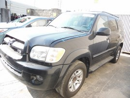 2006 TOYOTA SEQUOIA SR5 LIMITED BLACK 4.7L AT 2WD Z17914