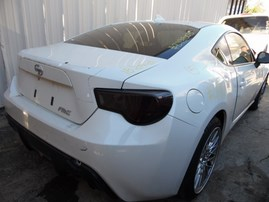 2015 SCION FR-S WHITE 2.0L MT Z19503