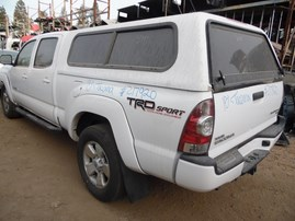 2015 TOYOTA TACOMA PRERUNNER WHITE DOUBLE CAB 4.0L AT 2WD Z17920