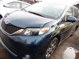 2011 TOYOTA SIENNA SE BLUE 3.5L AT 2WD Z18094