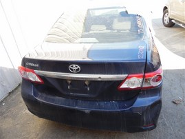 2013 TOYOTA COROLLA BASE BLUE 1.8 AT Z20942