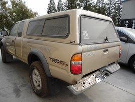 2003 TOYOTA TACOMA PREREUNNER BEIGE EXTRA CAB 3.4L AT 2WD Z17936
