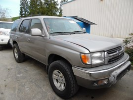 2002 TOYOTA 4RUNNER SR5 SILVER 3.4L AT 2WD Z18121