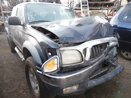 2001 TOYOTA TACOMA SR5 PRERUNNER BLACK XTRA CAB 3.4L AT 2WD Z17950