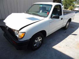 1996 TOYOTA TACOMA 2DR STD CAB WHITE 2.4 AT 2WD Z19752