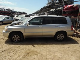 2002 TOYOTA HIGHLANDER SILVER 3.0 AT 4WD Z20160