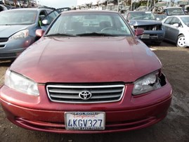 2000 TOYOTA CAMRY LE BURGUNDY 2.2L AT Z17961