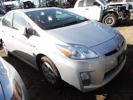 2011 TOYOTA PRIUS SILVER 1.8L AT Z17966