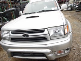 2001 TOYOTA 4RUNNER SR5 SILVER 3.4L AT 4WD Z18134