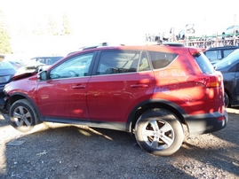 2015 TOYOTA RAV4 XLE RED 2.5L AT 2WD Z17643