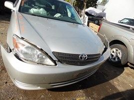 2003 TOYOTA CAMRY LE SILVER 2.4L AT Z17969