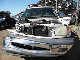 2002 TOYOTA TUNDRA SR5 WHITE EXTRA CAB 3.4L AT 2WD Z18144