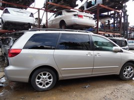 2005 TOYOTA SIENNA XLE SILVER 3.3L AT 2WD Z19533