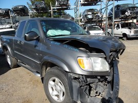 2004 TOYOTA TUNDRA LIMITED GRAY EXTRA CAB 4.7L AT 4WD Z18149