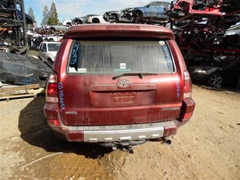 2005 TOYOTA 4RUNNER SPORT RED PEARL 4.7 AT 4WD XREAS Z20973