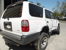 1998 TOYOTA 4RUNNER WHITE 2.4L AT 4WD Z18151
