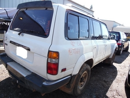 1992 TOYOTA LAND CRUISER WHITE 4.0L AT 4WD Z17664