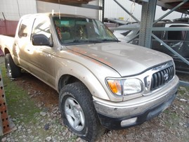 2002 TOYOTA TACOMA SR5 DOUBLE CAB 3.4L AT 4WD Z17988