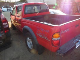 2002 TOYOTA TACOMA PRERUNNER SR5 RED 3.4 AT 2WD TRD OFF ROAD PACKAGE Z20982
