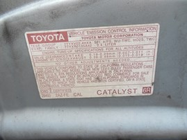 2007 CAMRY LE BLUE 4DR AT 2.4 Z19551