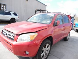 2008 TOYOTA RAV4 LIMITED RED 3.5L AT 2WD Z18166