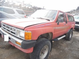 1986 T.TRUCK SR5 RED EXTRA CAB 2.4L TURBO AT 4WD Z18010