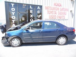 2004 TOYOTA COROLLA CE BLUE 1.8L AT Z18175