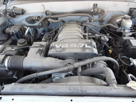 2003 TOYOTA SEQUOIA SR5 SILVER 4.7 AT 2WD Z19788