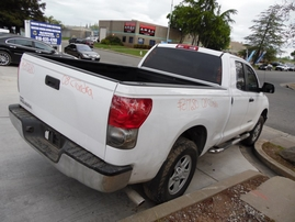 2008 TOYOTA TUNDRA DOUBLE CAB WHITE 4.0L AT 2WD Z17680