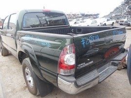 2012 TOYOTA TACOMA SR5 GREEN PRERUNNER DBLE CAB 4.0L AT 2WD Z18019