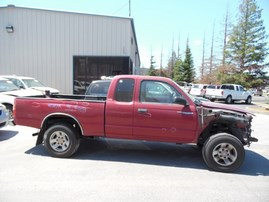 1999 TOYOTA TACOMA SR5 BURGUNDY XTRA CAB 3.4L AT 2WD Z18179