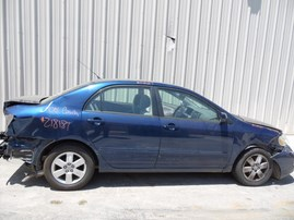 2005 TOYOTA COROLLA LE NAVY BLUE 1.8L AT Z18187